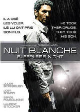 Sleepless Night / Nuit blanche (DVD, 2013, Canadian) in french, english subtitle