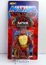 MOTU, Rattlor, Masters of the Universe, MOC, carded, figure, sealed, He Man, NIP