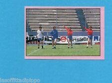 PANINI CALCIATORI 1985/86 -FIGURINA n.326- VERSO IL MUNDIAL - LA GAZZETTA-Rec