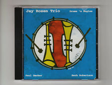 (CD) Drums 'n Bugles / Jay Rosen Trio; Paul Smoker,Herb Robertson /  Free Jazz