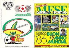 Mondiali Calcio Mundial Mexico 1986 - Riviste e Giornali