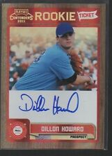 DILLON HOWARD 2011 PLAYOFF CONTENDERS ROOKIE TICKET AUTO CARD #RT48