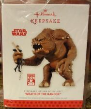 2013 SDCC EXCLUSIVE HALLMARK STAR WARS WRATH OF THE RANCOR ORNAMENT COMIC CON