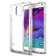 Spigen Ultra Hybrid Cell Mobile Phone Case Cover for Samsung Galaxy Note 4 Clear