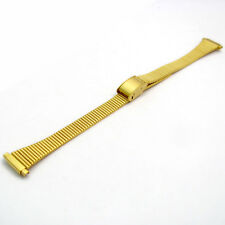 Ladies Milanese Style Watch Bracelet 2-piece Gold Plated BL07 10mm 12mm 14mm