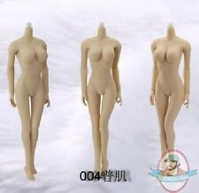 1/6 Female Seamless Body in Pale/Large Bust Size JD-004 by JIAOU DOLL