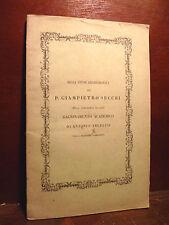 ARCHEOLOGIA - Angelini : Studi Archeologici di Giampietro Secchi - Roma 1858