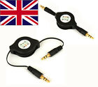 3.5mm jack to 3.5 mm jack AUX Audio in Connector Cable Lead Car for iPod MP3