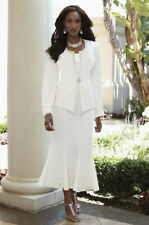 Cracked Ice Skirt Suit NEW size NWT Size 16 Church Formal Wedding