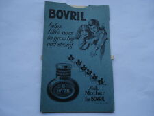 C1920S VINTAGE BOVRIL HELPS LITTLE ONES TO GROW BIG&STRONG SCHOLAR'S CALCULATOR