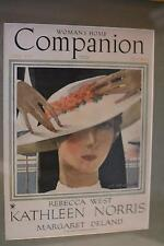 1934 Antique Vintage Art Deco PICTURE FRAME 'Woman's Home Companion' HAT Fashion