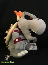 "Nintendo Super Mario 10"" Plush San-ei - Dry Bones Bowser, Super Smash Bros"