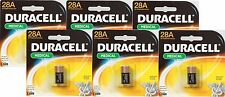 6 DURACELL 28A 6V Alkaline Battery Medical Electronics Photo Garage Door Collar