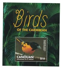 Canouan St Vincent - Birds of the Caribbean, 2015 - S/S MNH