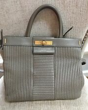 Marc Jacobs Italian Leather Tote Bag Gray $598