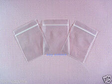 """50 Clear Ziplock Plastic Zipper Bags 2.4 Mil_4"""" x 6""""_100 x 150mm"""