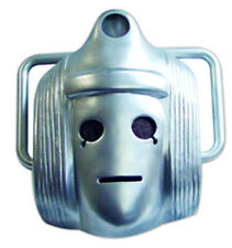 Classic Cyberman Blue Doctor Who Monster Single Card Face Mask.Great for Parties