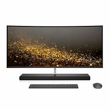 HP ENVY 34 CURVED Desktop i7-7700T 1TB SSD 32GB RAM All-in-One faster 34-b010
