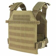 Condor 201042 Tan Tactical MOLLE Sentry Lightweight Plate Carrier Vest Rig