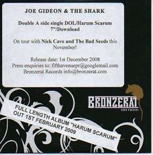 (P55) Joe Gideon & The Shark, DOL / Harum Scarum- DJ CD