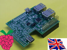 Rs-pi Interior 4 Usb Hub & RTC Board Para Raspberry Pi