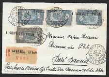 Côte des Somalis covers 1929 R-Airmailcover to DIRE-DAONA + PhotoAttest