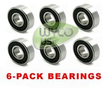 """6-PACK, BALL BEARINGS TO FIT JOHN DEERE L120, L 120 TRACTORS WITH 48"""" DECK"""