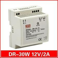 12V 2A 30W Din Rail Series Switching Power Supply  For LED Strip Light  NEW
