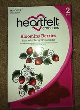 Heartfelt Creations BLOOMING BERRIES Cling Stamp Set HCPC-3732