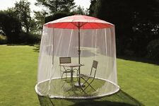 MESH SCREEN/FLY MESH ONLY for 3m Parasol/Umbrella or Smaller (Camelot CAM0138)