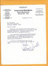 Christopher J. Dodd-signed letter-17 a