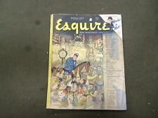 1948 JANUARY ESQUIRE MAGAZINE - NICE ILLUSTRATIONS, COVER AND ADS - ST 2741