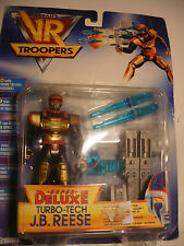 bandai sentai action figure Saban's VR TROOPERS Deluxe TURBO TECH J.B. REESE