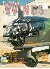 WINGS V19 N3 WW2 RAF FIRESTORM DRESDEN GERMANY / ARADO Ar234B BLITZ JET *MINT*