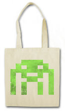 ALIEN INVADER HIPSTER BAG - Stofftasche Stoffbeutel - The Big Space Bang Theory