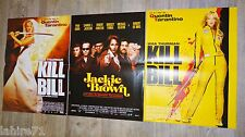 tarantino KILL BILL volume 1 : 2 + jackie brown ! affiches cinema
