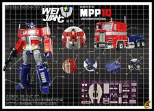 DETAILS STICKER SET FOR WEIJIANG MPP10 Optimus Prime NEW Not Including Figure