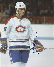 GFA Montreal Canadiens * JACQUES LEMAIRE * Signed 8x10 Photo AD3 COA