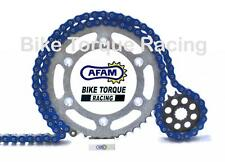 Yamaha YFM660R Raptor Quad 01-06 AFAM -6 Blue Chain & Sprocket Kit