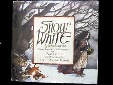 SCARCE Snow White by the Brothers Grimm, Children's Book, Heins & Schart Hyman