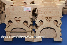 5 pc high quality French style solid maple wood 4/4 cello bridge dried 20 years