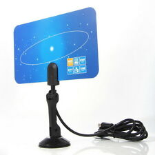 NF Digital Indoor HD TV HDTV DTV VHF UHF PC NB Flat High Gain Antenna 1080 i P