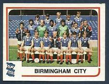 PANINI FOOTBALL 84-#039-BIRMINGHAM CITY TEAM PHOTO