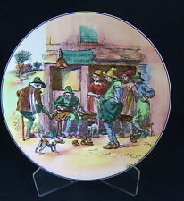 Vintage Royal Doulton Seriesware Old English Scenes Roger Solemel Cobbler Plate