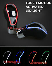 Universal Leather TOUCH MOTION ACTIVATED LED LIGHT Shift knob shifter shift gear