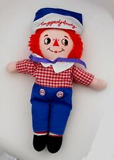 "Vintage 1990's applaudissements Jouets-Raggedy Andy-Ann - 12 ""plush toy (A1)"