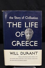 1939 The Story of Civilization THE LIFE OF GREECE by Will Durant, Hardcover Book