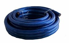 IMC AUDIO 0 Gauge 25' Ft Ground Wire Cable Blue Power Car Audio Amp Awg