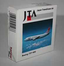 Herpa Wings-JTA-Japan TransOcean Air-Boeing 737-400-m/w Reg.-1:500-#501286
