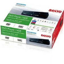 Sanyo FWDV225F DVD/CD/VHS/VCR Combo Player with Line in Recording, Brand New